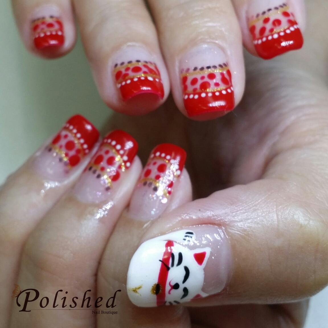 Cny Nail Art Design 2014 Nails Gallery